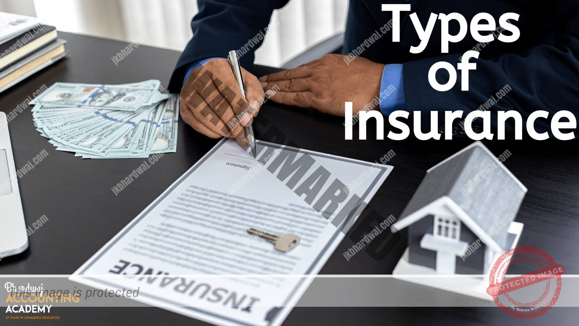 Tppes of Insurance