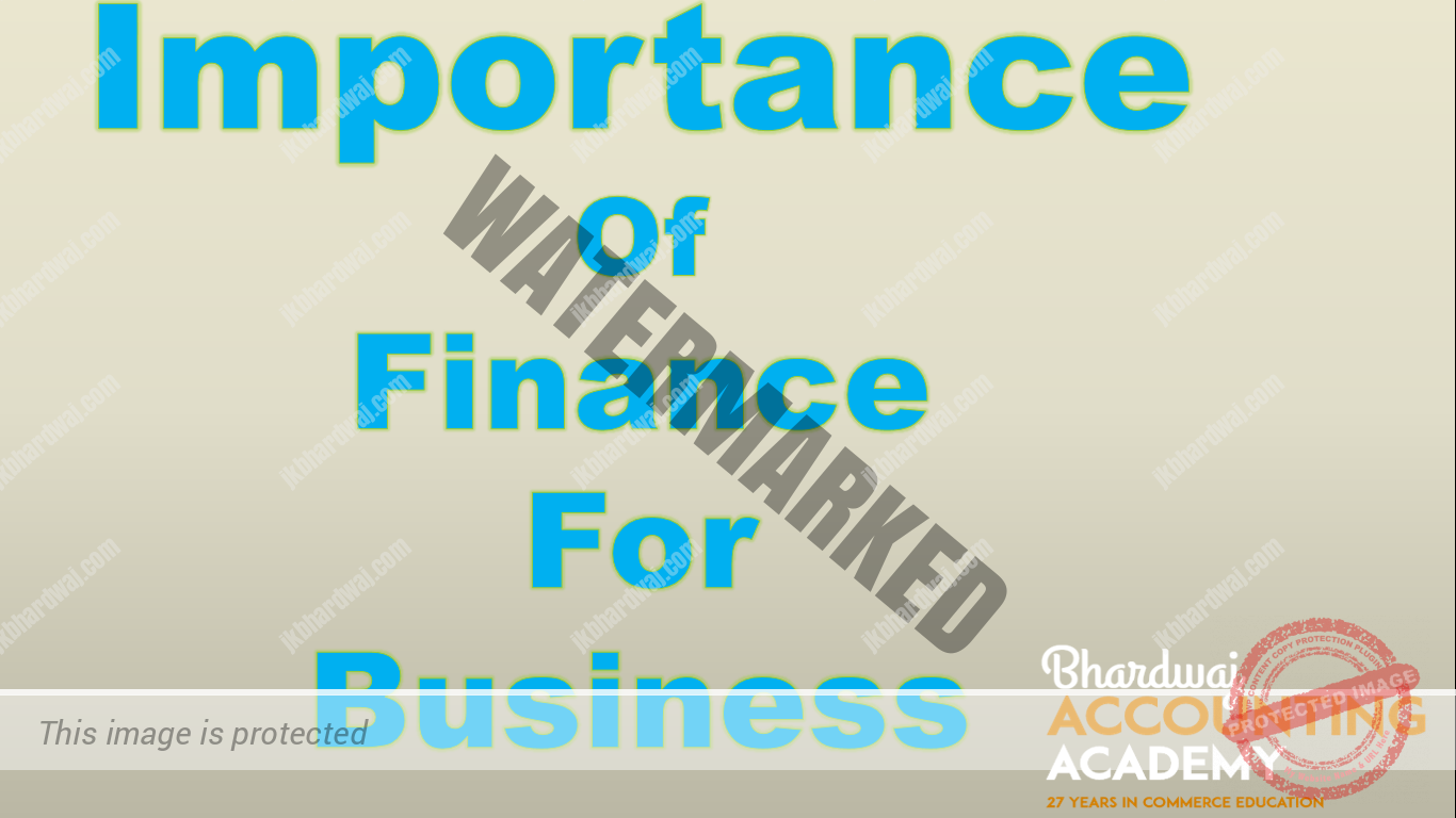 Importance Of Finance For Business