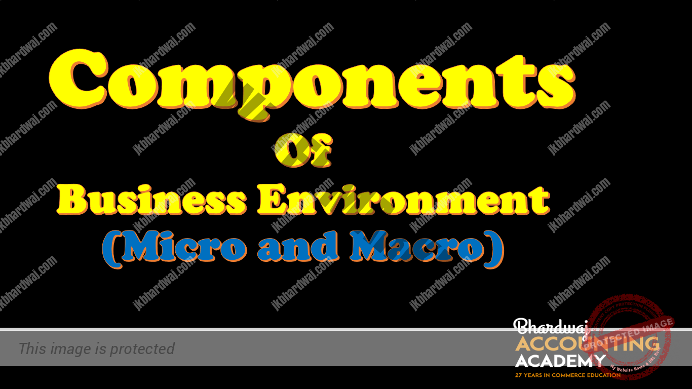 Components of Business Environment