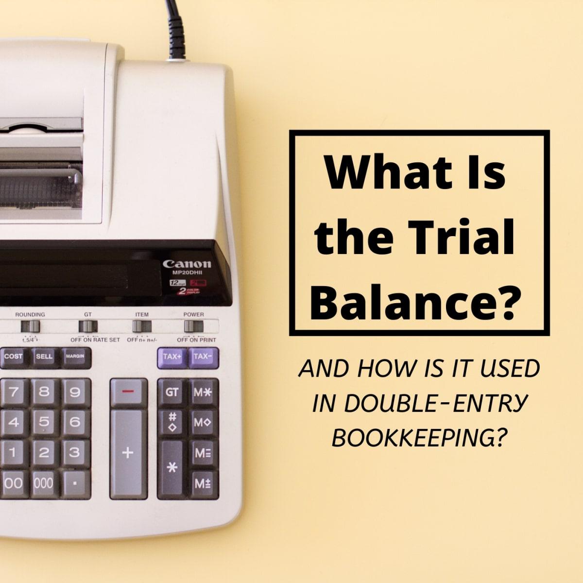 Trial balance format