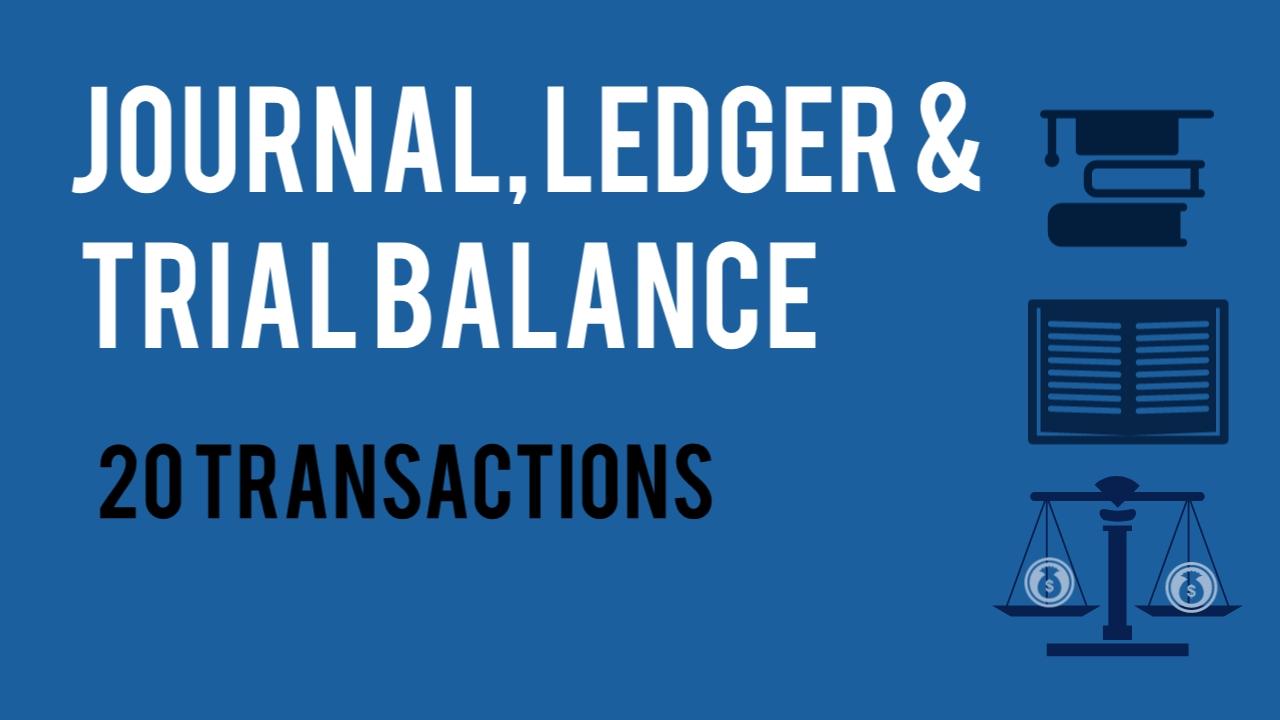journal ledger trial balance